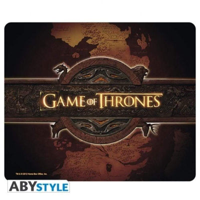 Abysse Novelty GAME OF THRONES - Mousepad - Logo & Card