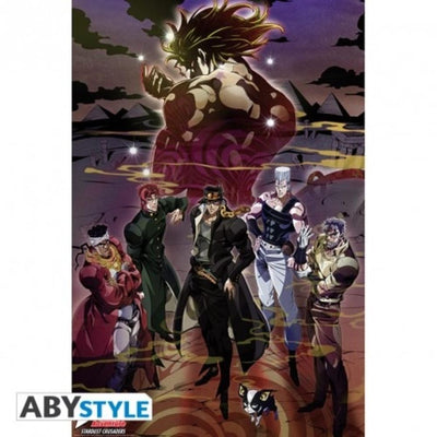 "Abysse Novelty JOJO'S BIZARRE ADVENTURE - Poster - ""Group"""