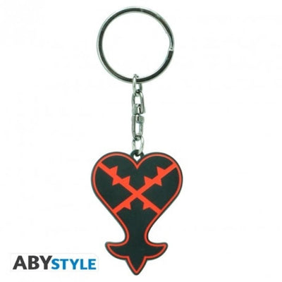 "Abysse Novelty KINGDOM HEARTS - Keychain ""Emblem Heartless"""