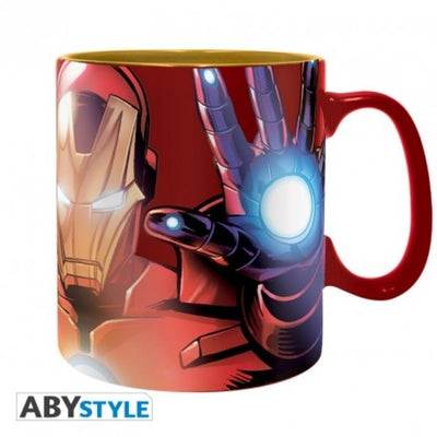 "Abysse Novelty Marvel - Mug Foil - 460 Ml - ""The Armored Avenger"""
