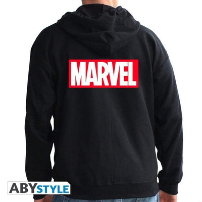 Abysse Apparels Marvel - Sweat -  Logo  Homme Black