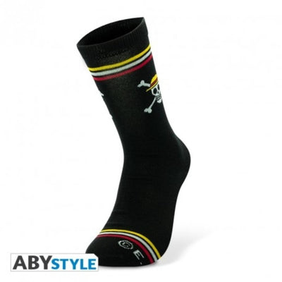 Abysse Apparels One Piece - Chaussettes- Noir - Skull