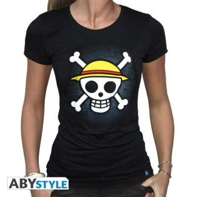 Abysse Apparels One Piece - Tshirt  Skull With Map