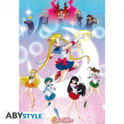 "Abysse Novelty SAILOR MOON - Poster ""Moonlight power"""