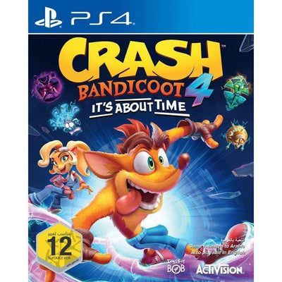 ActiVision Game Crash Bandicoot 4 : It's About Time (PS4)