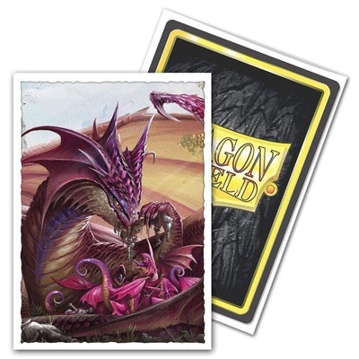 Arcane Tinmen Cards Dragon Shield Matte Art Sleeves - Mother's Day Dragon