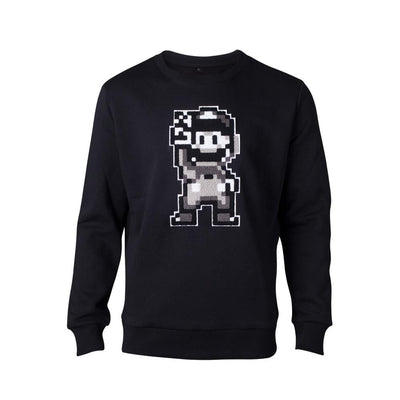Difuzed Apparels Nintendo - 16bit Mario Peace Men's Sweatshirt