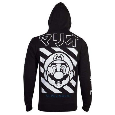 Difuzed Apparels Nintendo - Super Mario Japan Mario Zipper Hoodie