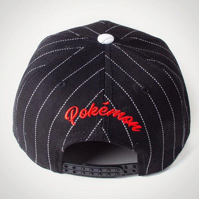 Difuzed Apparels POKEMON - Pokeball Varsity Snapback