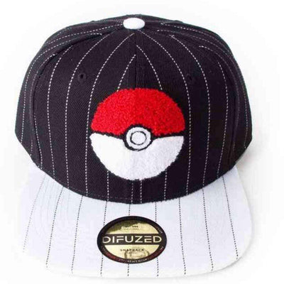 Difuzed Headwear POKEMON - Pokeball Varsity Snapback