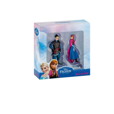 disney Action Figure Mini Frozen Kristoff And Anna Figurine Set 7centimeter