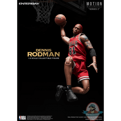 ENTERBAY Action Figure 1/9 Dennis Rodman
