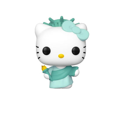 Funko Funko Pop Exclusive Pop Sanrio: Hello Kitty - Lady Liberty (Anniversary) (NYCC Ex)