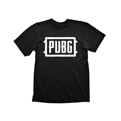 "Gaya Entertainment T Shirts PUBG T-Shirt  ""Logo"" Black"