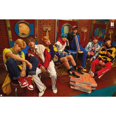 "GB Eye Novelty BTS ""Crew"" Poster"