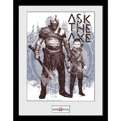 "GB Eye Novelty God of War ""Ask the Axe"""