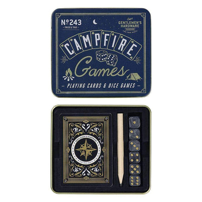 Gentlemen's Hardware Novelty Gentlemen's Hardware Campfire Playing Cards & Dice Games