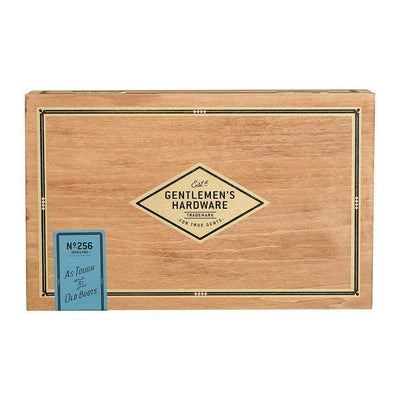 Gentlemen's Hardware Novelty Shoe Shine Cigar Box