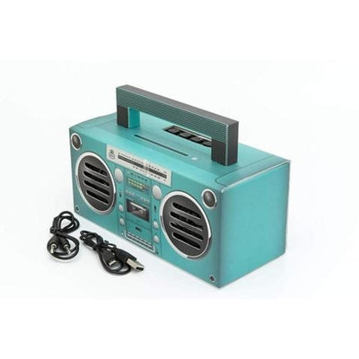 GPO Novelty Bronx BT Portable Speaker - Aqua