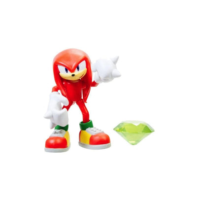 Jakks Pacific Toys Knuckles w/Green Chaos Emerald 4""