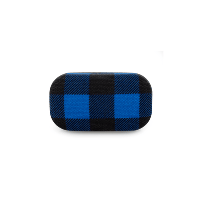 Kikkerland Novelty Buffalo Plaid Travel Case