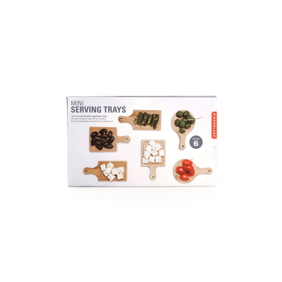 Kikkerland Novelty Mini Serving Trays