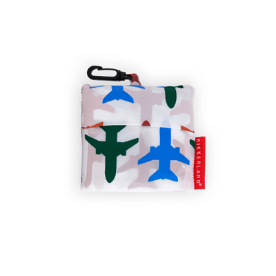 Kikkerland Novelty Planes Travel Laundry Bag