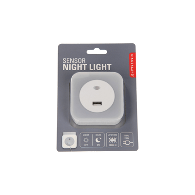Kikkerland Novelty Sensor Night Light With USB
