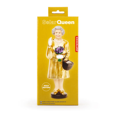 Kikkerland Novelty Solar Queen Gold Edition