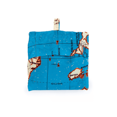 Kikkerland Novelty Travel Map Laundry Bags
