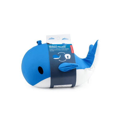 Kikkerland Novelty Zip And Flip Pillow Whale