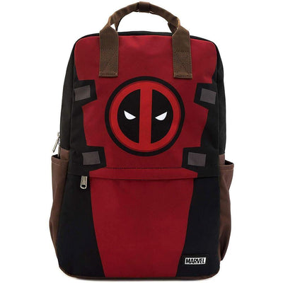 Loungefly Apparels Deadpool Cosplay Square Nylon Backpack