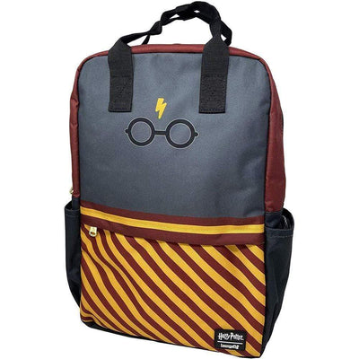 Loungefly Apparels Harry Potter Glasses Square Nylon Backpack