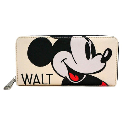 Loungefly Apparels MICKEY MOUSE CLASSIC ZIP AROUND WALLET