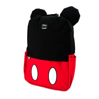 Loungefly Apparels Mickey Mouse Cosplay Square Nylon Backpack