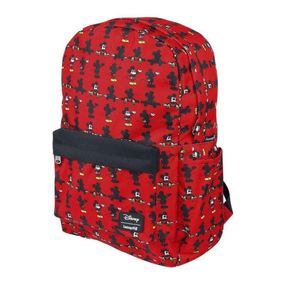 Loungefly Apparels Mickey Parts AOP Nylon Backpack