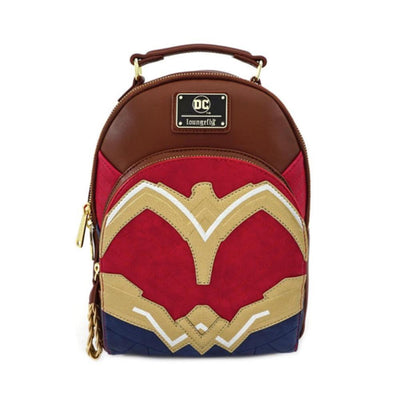 Loungefly Apparels Wonder Woman Cosplay Mini Backpack