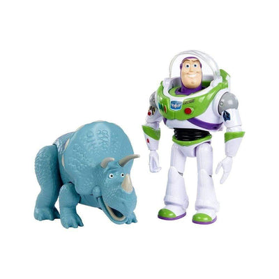 Mattel Toys Disney Pixar Toy Story Buzz Lightyear & Trixie 2 Pack Action Figures