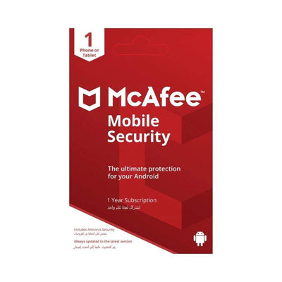 McAfee Digital Currency McAfee Mobile Security (1 Device)