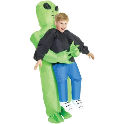 Morphsuits Apparels Alien Pick Me Up Kids Inflatable