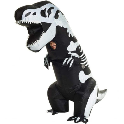 Morphsuits Apparels Giant T-Rex Skeleton Inflatable Costume