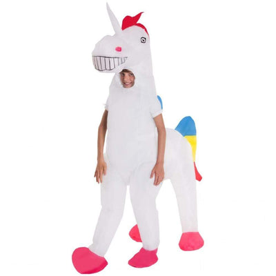 Morphsuits Apparels Kids Giant Unicorn Inflatable Costume