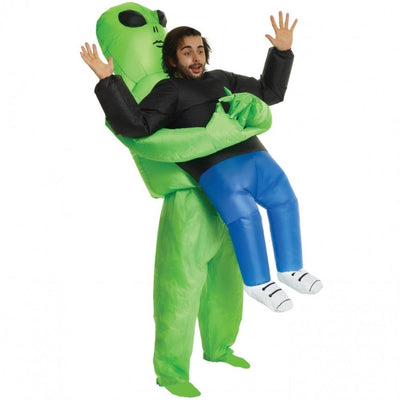 Morphsuits Apparels PICK ME UP Alien Adults Inflatable