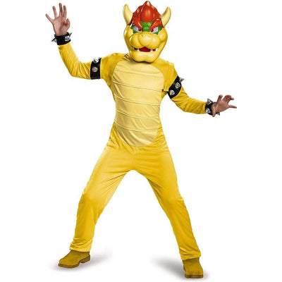 Morphsuits Apparels Super Mario Bowser Kids Deluxe Costume Boys Gaming