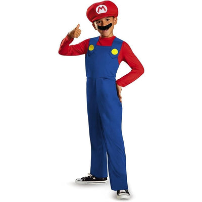 Morphsuits Apparels Super Mario Bros Kids Deluxe Costume Boys