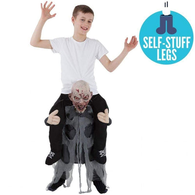 Morphsuits Apparels Zombie Piggyback Costume Kids