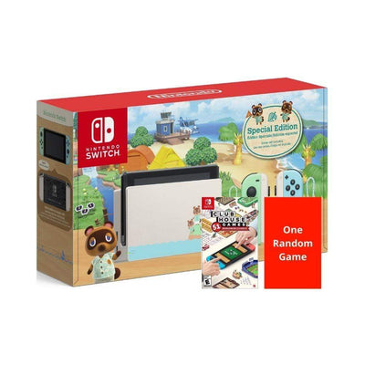 Nintendo Console Bundle Animal Crossing Bundle - 2 Games