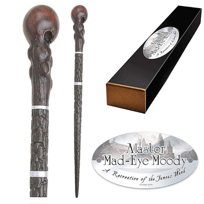 Noble Collection Wands Alastor Mad-Eye Moody Character Wand