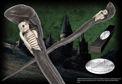 Noble Collection Death Eater Character Wand – Snake