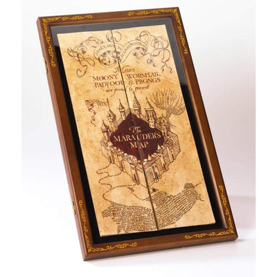 Noble Collection Novelty Marauder's Map Display Case